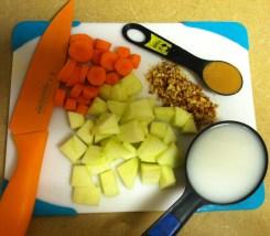 carrot apple smoothie ingredients