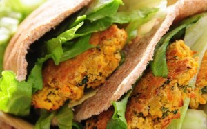 chick pea burgers
