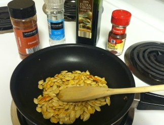 roasted pumpkin seed ingredients