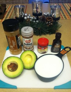 vegan eggnog ingredients
