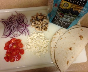 quinoa quesadillas ingredients