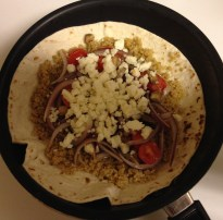 quinoa quesadillas preparation 3