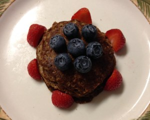 Chocolate Shakeology Pancakes