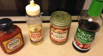 Thai Chopped Salad dressing ingredients
