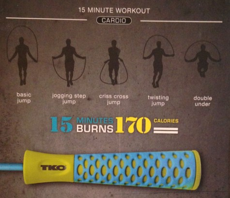 TKO jump rope cardio workout