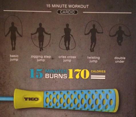 TKO jump rope cardio workout