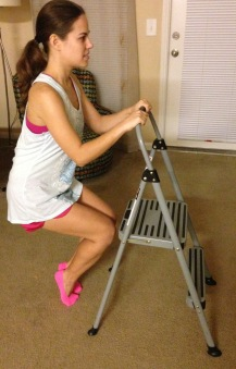barre thigh exercise