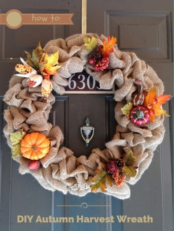 diy autumn harvest wreath