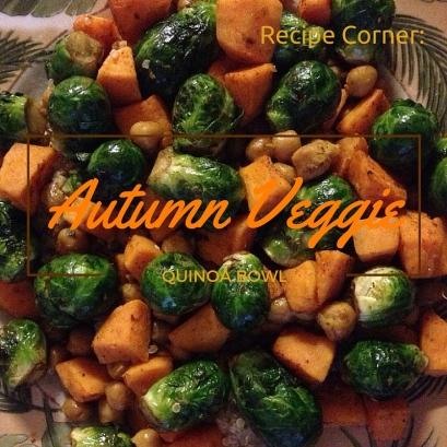 Autumn Veggie Quinoa Bowl